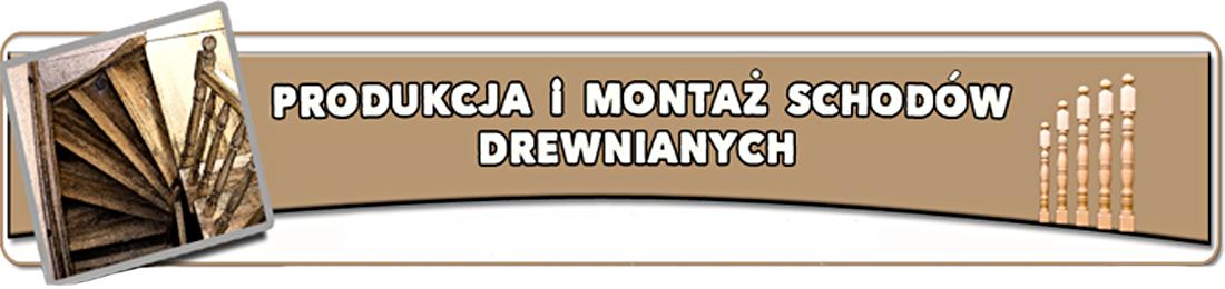 Jan Dzięgiel schody drewniane Kraków baner